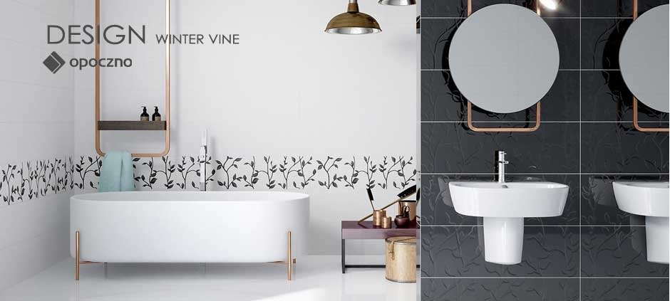 Opoczno Design Winter Vine